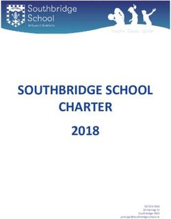SOUTHBRIDGE SCHOOL CHARTER 2018