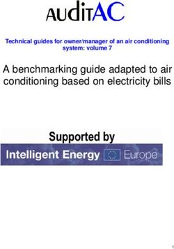A benchmarking guide adapted to air conditioning based on electricity bills