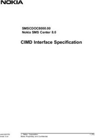 CIMD Interface Specification
