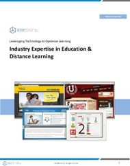 Industry Expertise in Education & Distance Learning