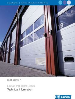 Lindab Industrial Doors Technical Information