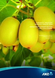 KIWIFRUIT INDUSTRY INSIGHTS UPDATE 2019
