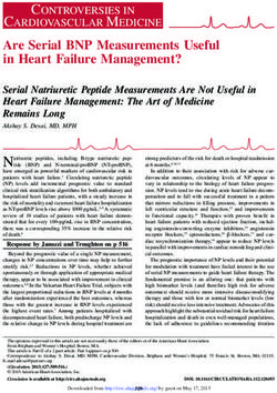 Are Serial BNP Measurements Useful in Heart Failure Management?