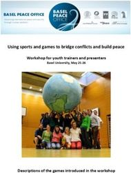 Using sports and games to bridge conflicts and build peace