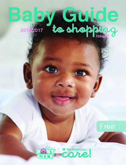 Baby Guide 2016/2017 - Baby City