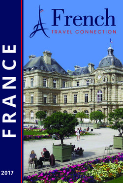 French Travel Connection 2017