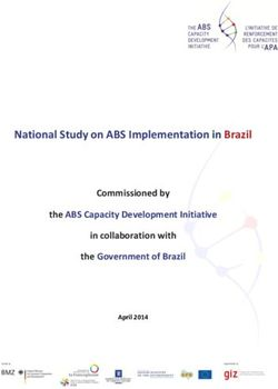 National Study on ABS Implementation in Brazil