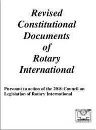 Revised Constitutional Documents of Rotary International