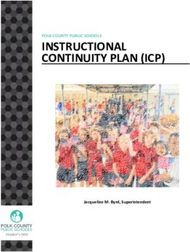 INSTRUCTIONAL CONTINUITY PLAN (ICP) - POLK COUNTY PUBLIC SCHOOLS - ...