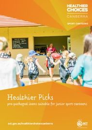 Healthier Picks pre-packaged items suitable for junior sport canteens - ...