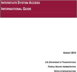 INTERSTATE SYSTEM ACCESS INFORMATIONAL GUIDE