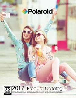 Polariod 2017 Product Catalog. Instant Cameras, Action Cams, Photo & Studio Accessories.