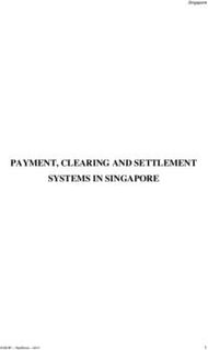 PAYMENT, CLEARING AND SETTLEMENT SYSTEMS IN SINGAPORE