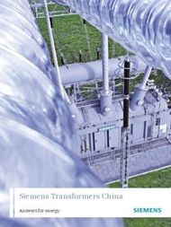Siemens Transformers China Answers for energy.