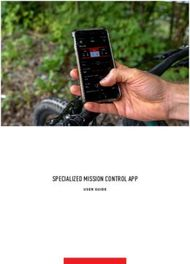 SPECIALIZED MISSION CONTROL APP - USER GUIDE - Start