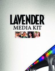 MEDIA KIT - Lavender Magazine