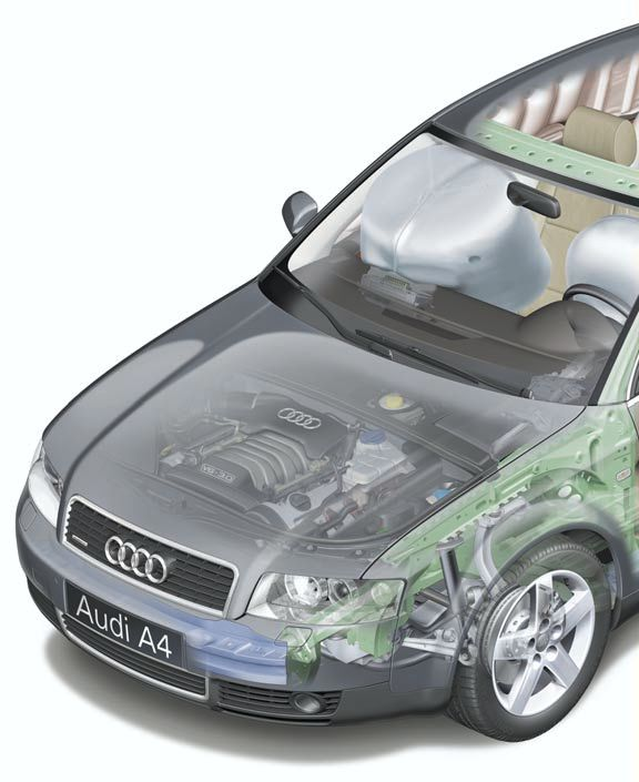 AUDI A4 01 - Technical Features