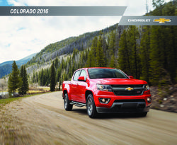 Chevrolet Colorado 2016 Catalog