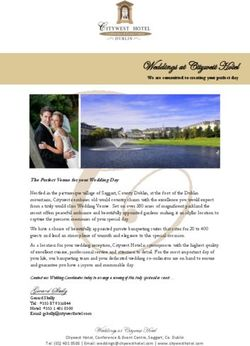Weddings at Citywest Hotel Gerard Skelly