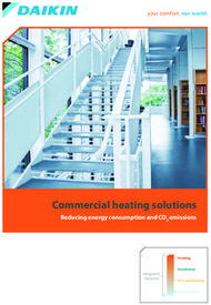 Commercial heating solutions - Reducing energy consumption and CO2 emissions