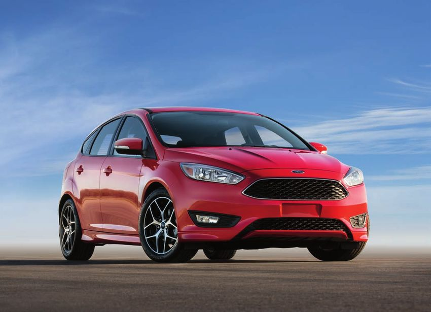 2016 ford focus st rs specifications. Black Bedroom Furniture Sets. Home Design Ideas