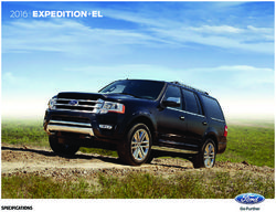 Ford Expedition+EL 2016 Specifications