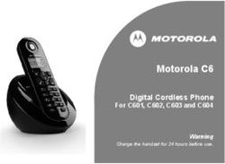 Motorola C6 Digital Cordless Phone