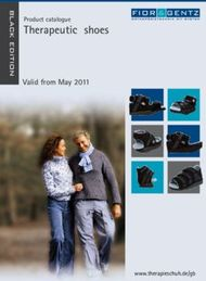 Therapeutic shoes - Product catalogue