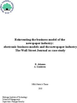 Reinventing the business model of the newspaper industry: electronic business models and the newspaper industry The Wall Street Journal as case study