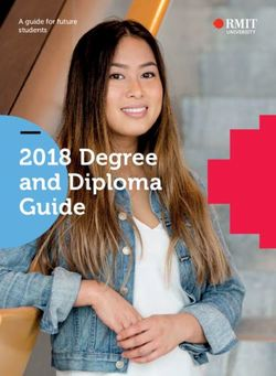 2018 Degree and Diploma Guide