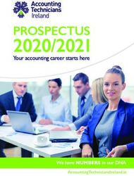 2020/2021 PROSPECTUS Your accounting career starts here