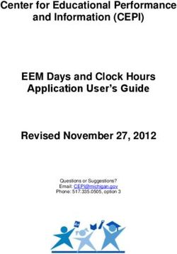 Center for Educational Performance and Information (CEPI) EEM Days and Clock Hours Application User's Guide Revised November 27, 2012