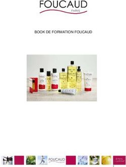 BOOK DE FORMATION FOUCAUD