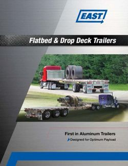 Flatbed & Drop Deck Trailers First in Aluminum Trailers