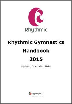 Rhythmic Gymnastics Handbook 2015 - Updated November 2014
