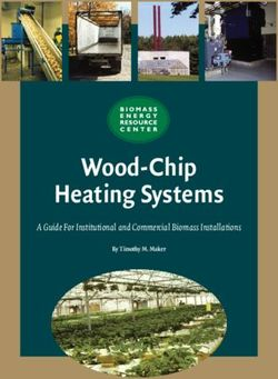 Wood-Chip Heating Systems - A Guide For Institutional and Commercial Biomass Installations
