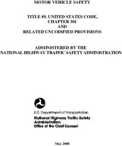 MOTOR VEHICLE SAFETY TITLE 49, UNITED STATES CODE, CHAPTER 301 AND RELATED UNCODIFIED PROVISIONS