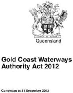 Gold Coast Waterways Authority Act 2012