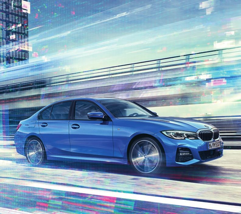 THE NEW BMW 3 SERIES SALOON.