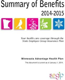 Minnesota Advantage Health Plan This document is current as of January 1, 2014.