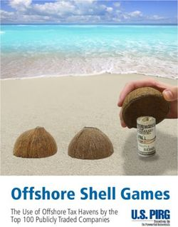 Offshore Shell Games The Use of Offshore Tax Havens by the Top 100 Publicly Traded Companies