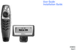User Guide Installation Guide 9356656
