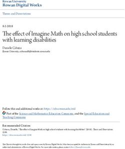 The effect of Imagine Math on high school students with learning disabilities