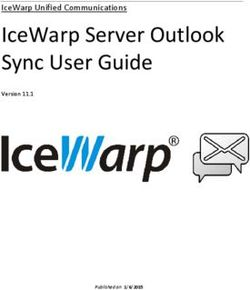 ICEWARP SERVER OUTLOOK SYNC USER GUIDE