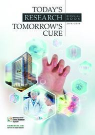 TODAY'S RESEARCH TOMORROW'S CURE