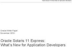 Oracle Solaris 11 Express: What's New for Application Developers