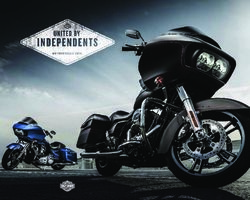 Harley-Davidson Motorcycles 2015. Catalogue.