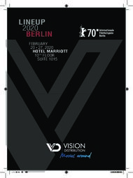 LINEUP 2020 HOTEL MARRIOTT - Vision Distribution International