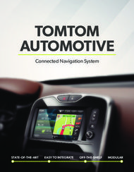 Tomtom automotive connected navigation system