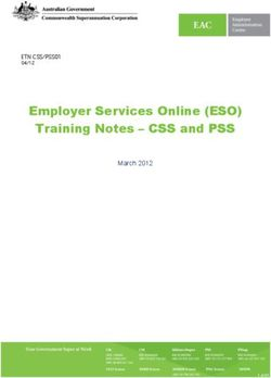 Employer Services Online (ESO) Training Notes - CSS and PSS